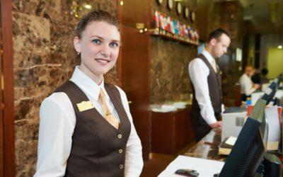Atendimento e Recepção em Hotelaria