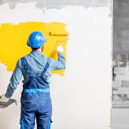 Pintor de Obras da Construção Civil